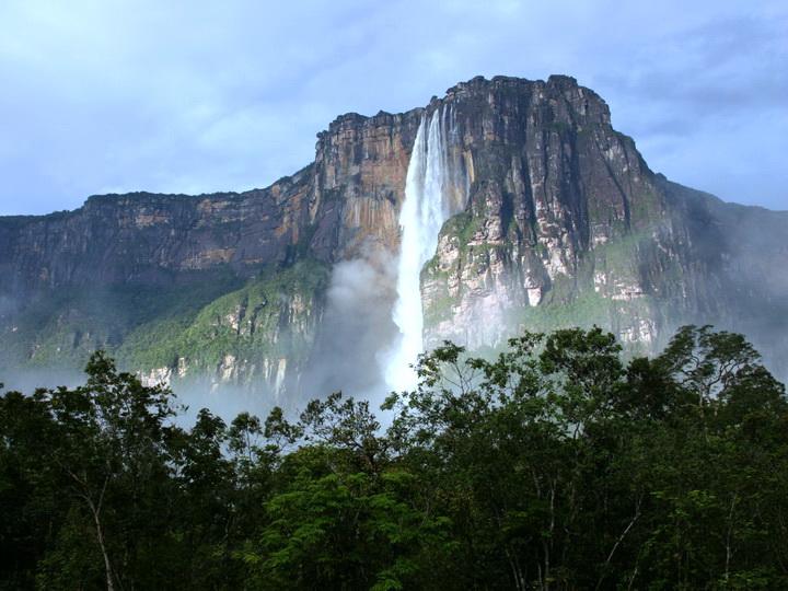 Самый высокий водопад в мире