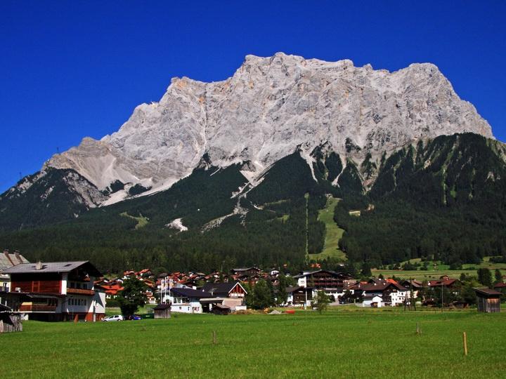 Самая высокая гора в германии